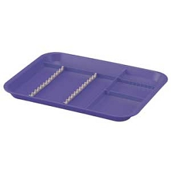 Zirc B-Lok Divided Tray (A) White