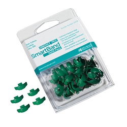 Contact Pro SmartBands Coated 4.5mm Green 100pk